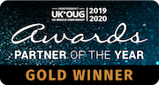 UK•OUG Partner Of The Year - Gold Winner